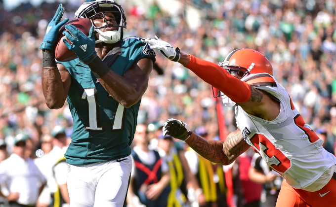 agholor week 2 waiver wire pickup