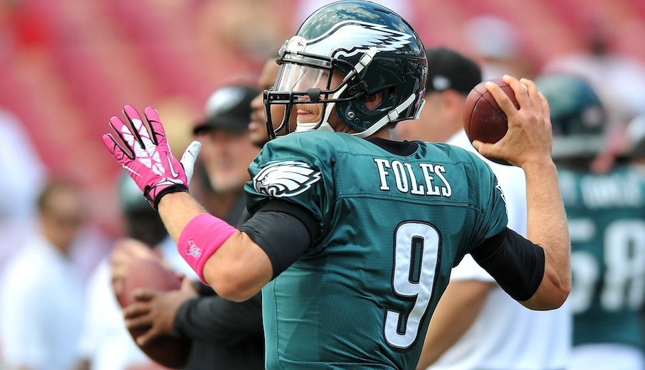nick foles week 16 waiver pickup