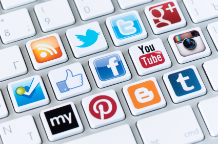 dh social media buttons istock image 25015338